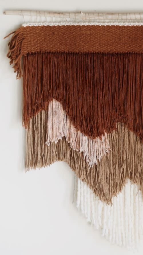 Redwood Weaving   Wall Hangings by The Northern Craft
