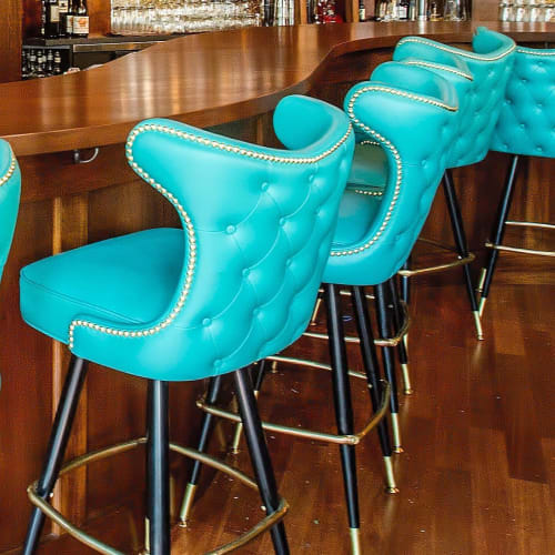 Chairs by Richardson Seating Corporation seen at Rumba, Seattle - Bar Stool - Model 2516