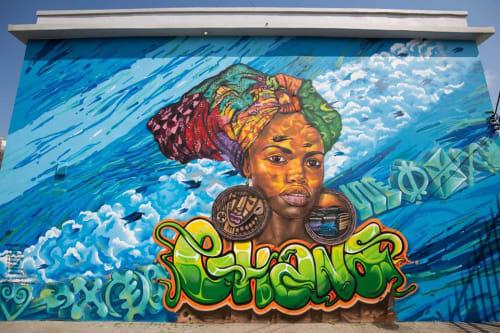 Mohammed Awudu - Street Murals and Murals