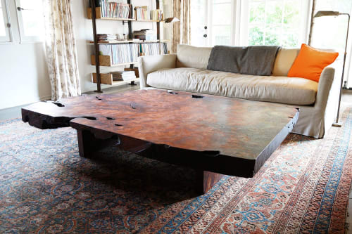 Tables by Offerman Woodshop seen at Private Residence, Los Angeles - Porterhouse Coffee Table
