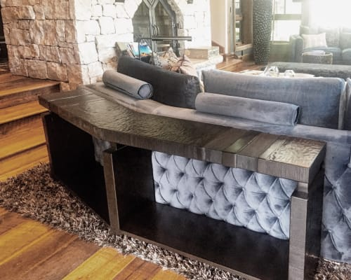 Tables by Andi-Le at Private Residence, Aspen, Aspen - Chinle Console