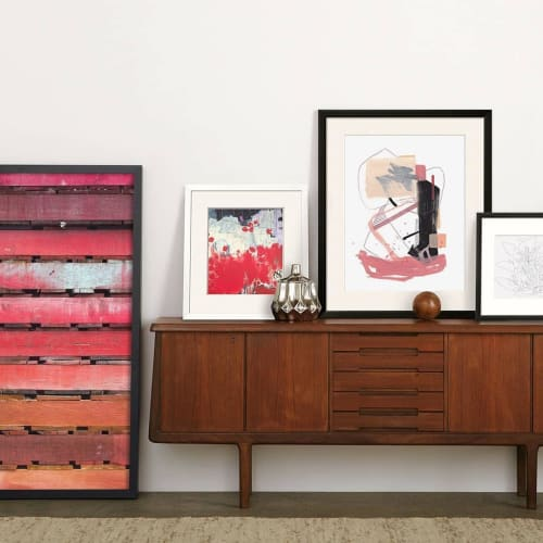 Paintings by Jaime Derringer seen at Private Residence, Los Angeles - Abstract Painting