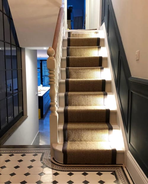 Architecture by Rhum Lawrence seen at Private Residence, London - Staircase