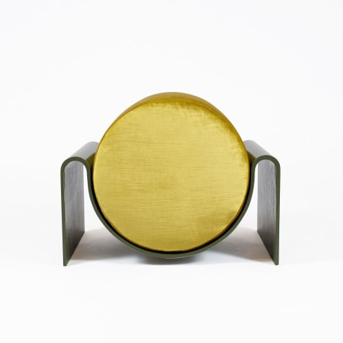 Chairs by Asa Pingree seen at One Manhattan Square - Lower East Side Condos, New York - Monitor Stool