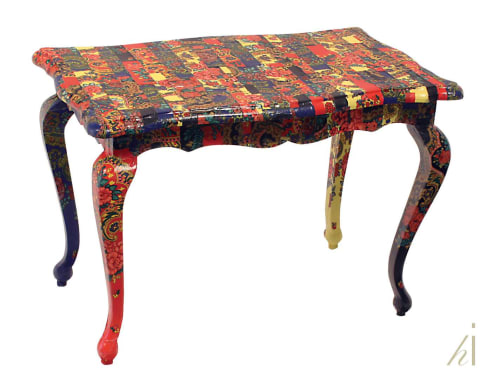 Tables by Habitat Improver - Furniture Restyle and Applied Arts seen at Creator's Studio, Lisbon - Folklore