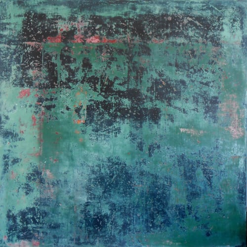 Paintings by George Antoni seen at Private Residence - Coastal Intervention 4
