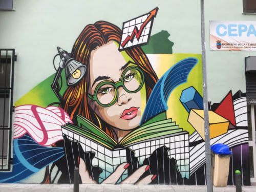 Street Murals by JAY KAES - Adult Education