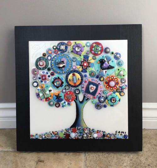 "Art & Wall Decor by Cami Levin seen at Creator's Studio, Dana Point - Tree of Love - ""Blackbird"""