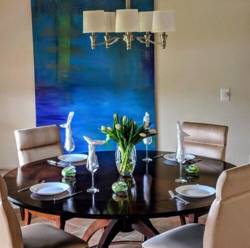 Paintings by Catalina Garreton seen at Private Residence, Fort Myers - Commission Painting - Fort Myers, FL