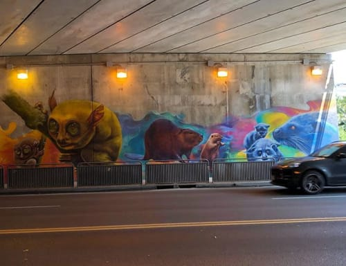 Nick Sweetman - Art and Street Murals