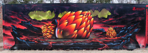 Jared Goulette | The Color Wizard - Street Murals and Murals