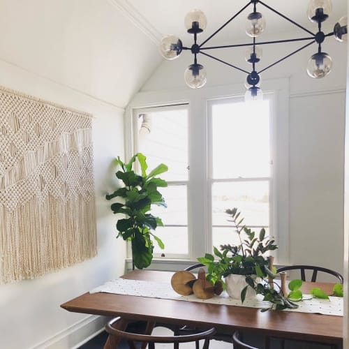 Katie De Marzo - The Copper Nail - Macrame Wall Hanging and Art