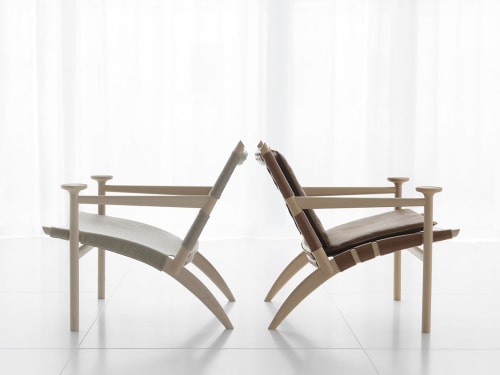 Chairs by David Ericsson seen at Private Residence, Stockholm - Hedwig Chair