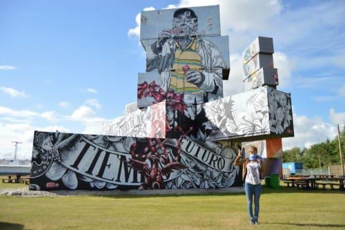 Lula Goce - Street Murals and Murals