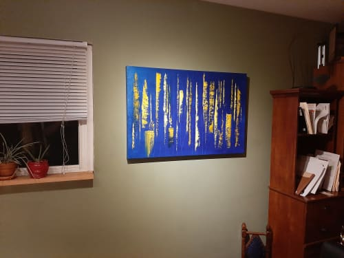 Paintings by Ryan Miller, Artist seen at Private Residence, Chicago - Impending #2