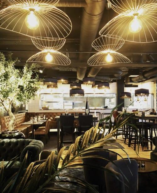 Interior Design by Helena Magnusson seen at Blackstone Steakhouse Borlänge, Borlänge - Interior Design