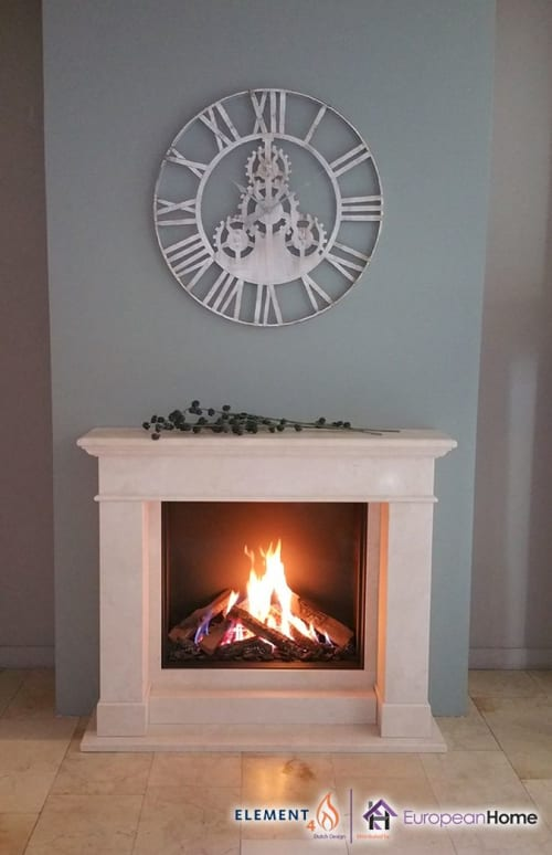 Architecture by European Home seen at 30 Log Bridge Rd, Middleton - Modore 75H Single-Sided Fireplace