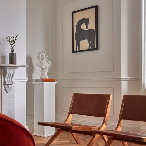 Paintings by Anna Mörner seen at Private Residence, Montreal - Jerico