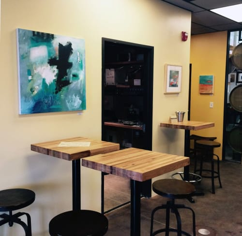 Paintings by Abby Creek Studios - Paintings by Linda O'Neill seen at Settembre Cellars, Boulder - Certain Dark Things Are To Be Loved