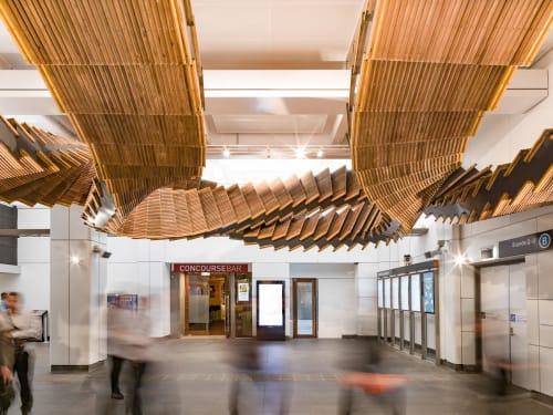 Architecture by Studio Chris Fox seen at Wynyard, Sydney - Interloop