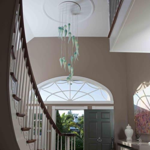 Chandeliers by Laura Elizabeth Glass seen at Private Residence, Nuneaton - Handmade Bespoke Chandelier