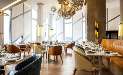 Interior Design by TONIK Associates seen at M by Montcalm, London - Urban Coterie