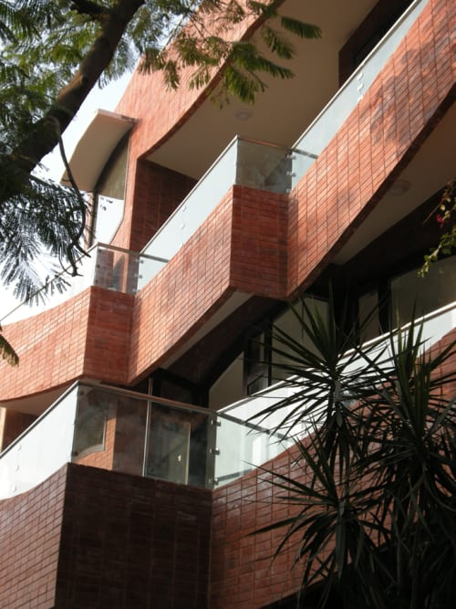 Interior Design by Haresh Lalvani at Sarvodaya Enclave, New Delhi - B47: Architecture of Multiple Dimensions