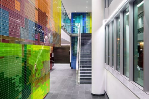 Tiles by Henriquez Partners Architects seen at York Theatre, The Cultch, Vancouver - Tiles