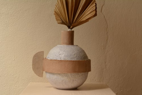 Art & Wall Decor by Eco Factoria seen at Private Residence, San Juan - Saturno vessels