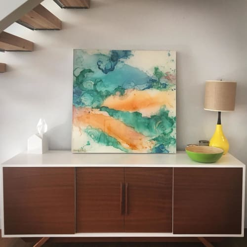Paintings by Amanda M Moody seen at Private Residence, Phoenix - ambrosia