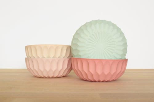 Tableware by Tiny Badger Ceramics seen at Private Residence, Los Angeles - Cereal Bowl No. 1