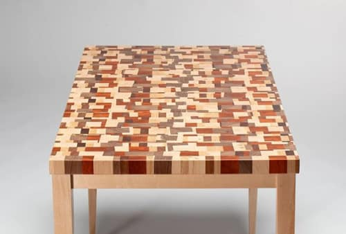 The Timbered Wolf by Christopher Dean - Furniture and Tableware