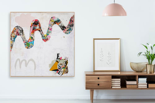 Art Curation by Bibby Art seen at Mill Valley, CA, Mill Valley - Meandering in a home