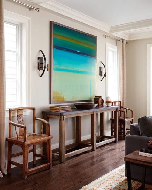 Paintings by Lisa Ridgers Fine Art seen at Private Residence, Chicago - Abstract Painting