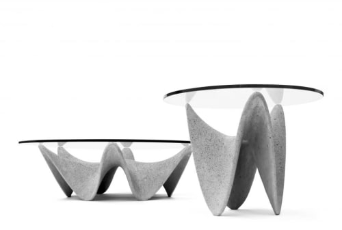 Tables by Concreteworks seen at Private Residence, Monterrey - Candela Tables