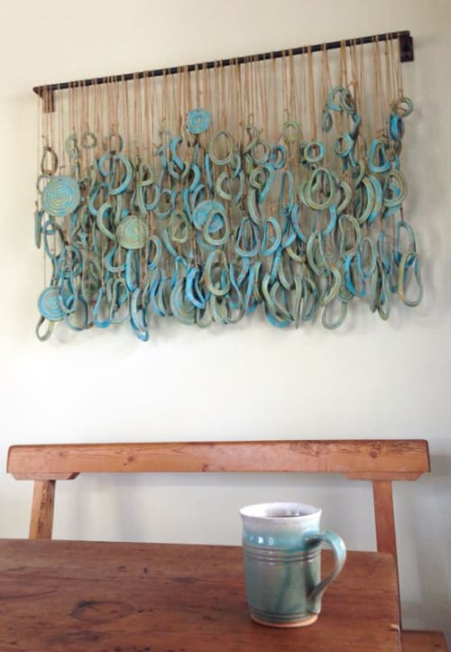 Art & Wall Decor by Sharon Hardy Ceramics seen at Private Residence, Pasadena - Ceramic Sculpture