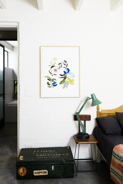 Paintings by Ruth Le Roux seen at Private Residence, Oakland - Flora I