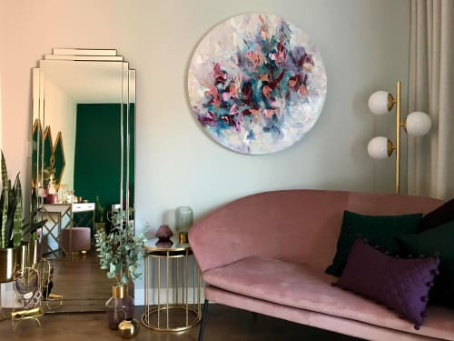 Art Curation by VÉ BOISVERT seen at Private Residence, Montreal - Orchid's Blossom