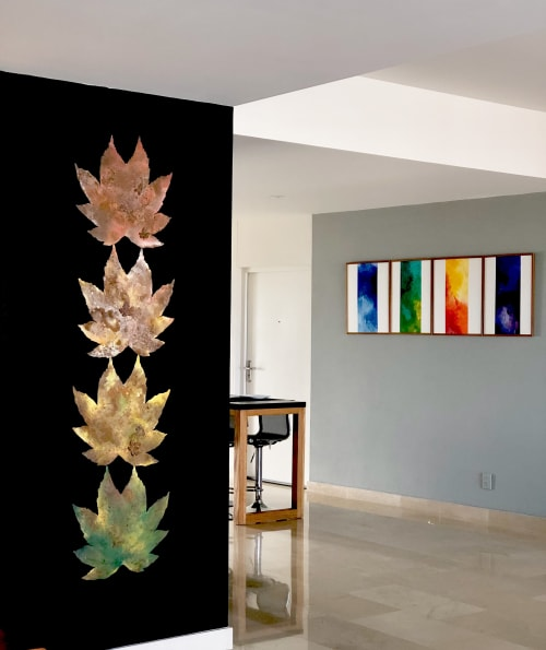 Paintings by sorayart - sorayacaballero seen at Private Residence, Mexico City - Nature pallet