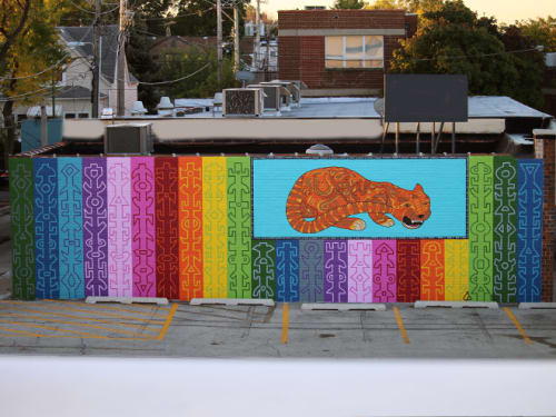 Street Murals by Tony Passero seen at 3909 North Cicero Avenue, Chicago, IL, Chicago - JagLeo Mural