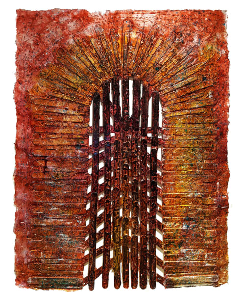 Paintings by Garry Grant Studio seen at New York, New York - The Gateway to Eternal Souls