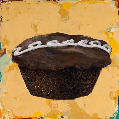 Paintings by David Palmer Studio seen at Pasadena, Pasadena - Cupcake #2