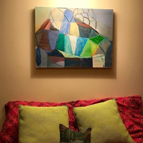 Paintings by Terry Ekasala seen at Private Residence, Burke - Black Diamond