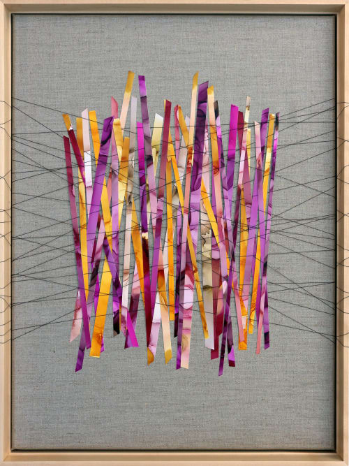 """Quarantine Confessions: Rosé The Day Away"" Original Artwork   Paintings by Julie Pelaez Studios   Austin in Austin"