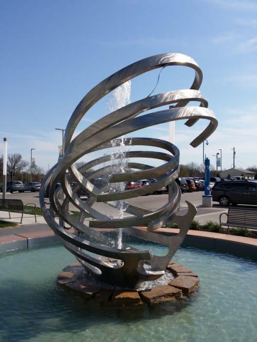 Public Sculptures by Amie Jacobsen Art and Design seen at Genesis Medical Center, Davenport, East Rusholme Street, Davenport - Tempest Ballet
