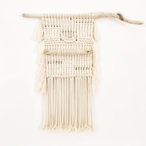 Macrame Wall Hanging by Katie De Marzo - The Copper Nail seen at Private Residence, Claremont - Desert Drift
