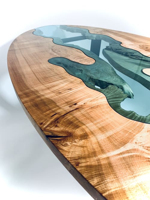 Maple River Table   Tables by Citizen Wood Company