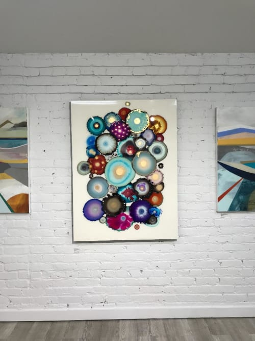 Paintings by Laura Van Horne Art seen at Gray Sky Gallery, Seattle - Kaleidoscope