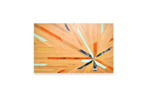 Art & Wall Decor by Christopher Original seen at Private Residence, Overland Park - Starburst