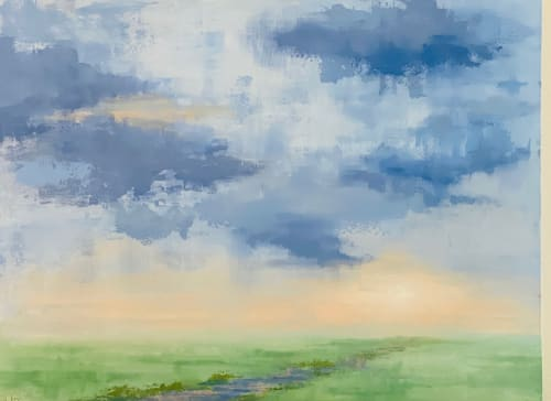 Summer Storm   Paintings by Lelia Davis